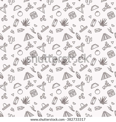 original seamless pattern with