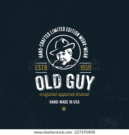 Original t shirt apparel graphic design vintage logo for for Hats and shirts with company logo