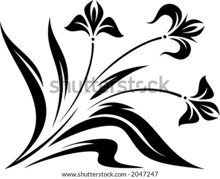 Original Vector Floral Ornament. This is a vector image - you can ...