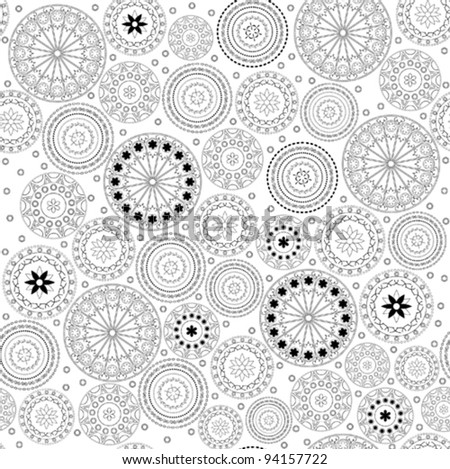 Ornament with circle pattern