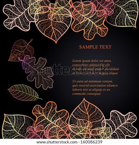 ornamental background with art