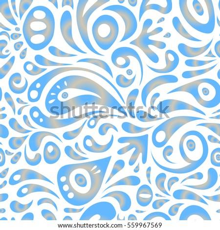 ornamental border vector seamless pattern seamless damask pattern