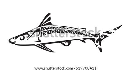 ornamental decorative shark