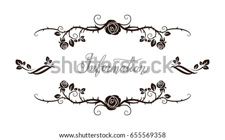 Free Vector Rose Frame - Download Free Vector Art, Stock Graphics ...
