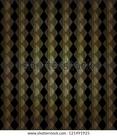 Ornamental geometrical seamless background. Golden decorative linear endless pattern