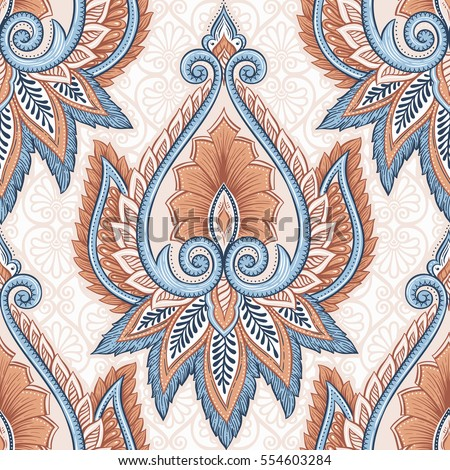 ornamental hand drawn ethnic