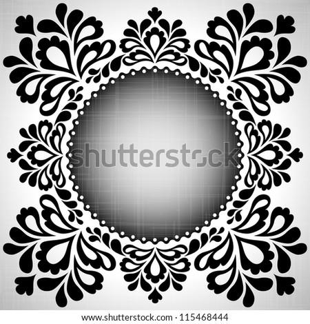 Ornamental template