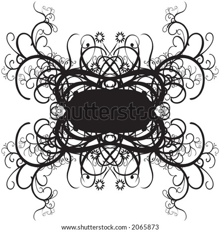 Ornate decorative borders