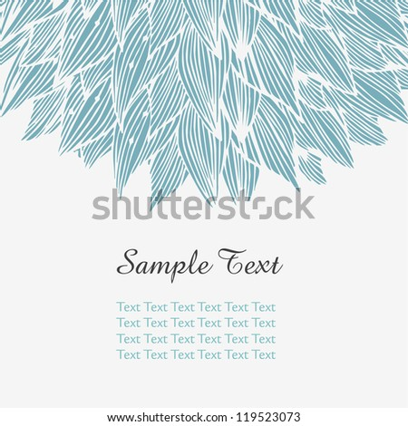 ornate floral banner design