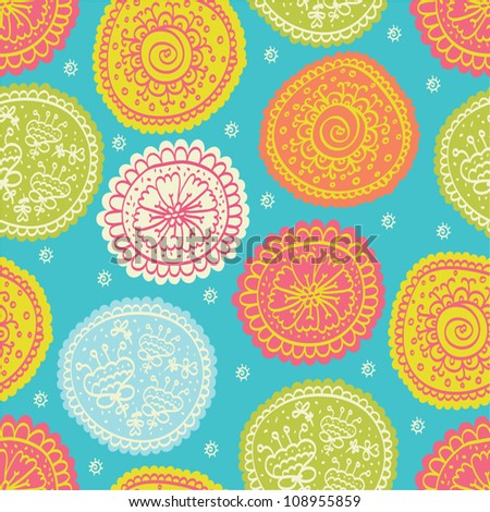 Ornate floral seamless texture, endless pattern with flowers. Seamless pattern can be used for wallpaper, pattern fills, web page background, surface textures.