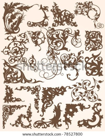 Ornate Flourish Elements