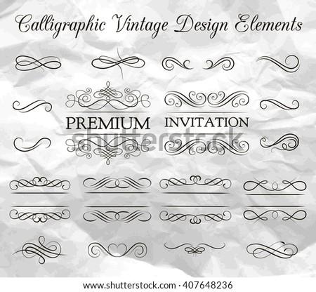 Ornate frame elements. Vintage and filigree decoration. Ornate frames and scroll  swirls element. Filigree divider Invitation. scroll invitation. filigree element. divider vintage ornament. swirl