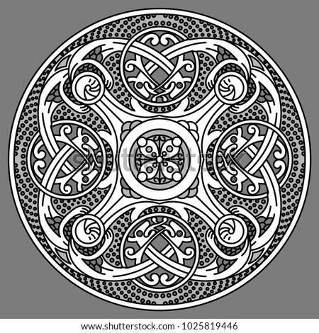 ornate patterns of the vikings