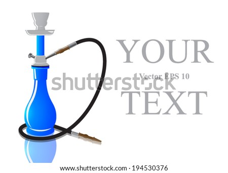ornate sheesha or hooka water