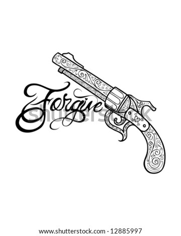 ornate tattoo gun