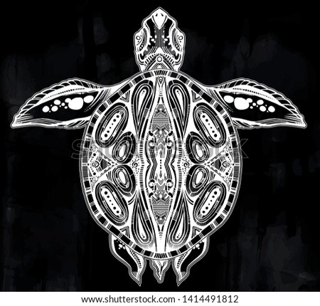 tribal turtle - 103 Free Vectors to Download | FreeVectors
