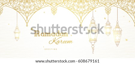 ornate vector banner  vintage
