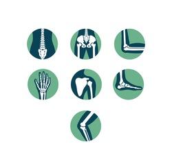 Orthopaedics and Sport Medicine Icons