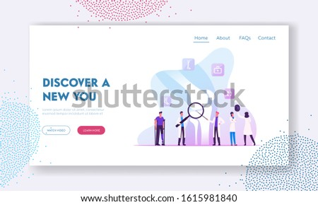 Orthopedy and Traumatology Healthcare Website Landing Page. Doctors Traumatologists and Patients Treatment. Medical Specialists Concilium in Hospital Web Page Banner. Cartoon Flat Vector Illustration