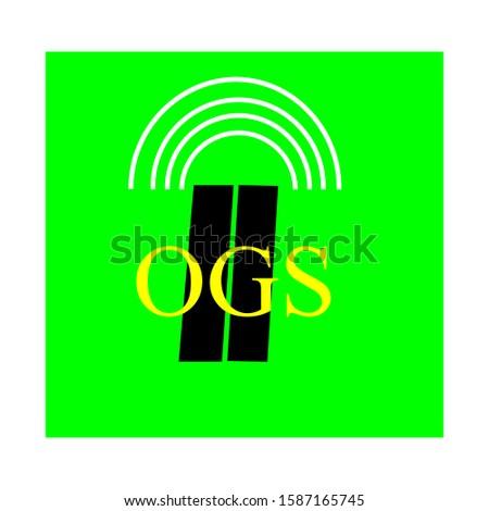 otomatik geçiş sistemi levhası mean English automatic toll system sign for cars on the highway. Stok fotoğraf ©