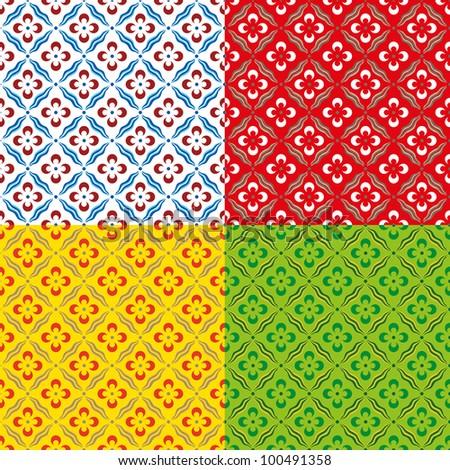 Ottoman style pattern
