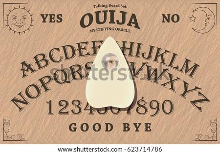 Ouija Board Vectors Download Free Vector Art Stock Graphics Images