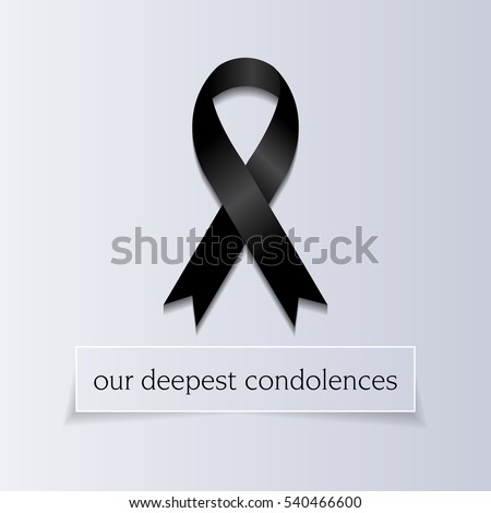 our deepest condolences a