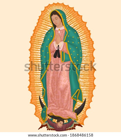 Our Lady of Guadalupe, Empress of America Stock fotó ©