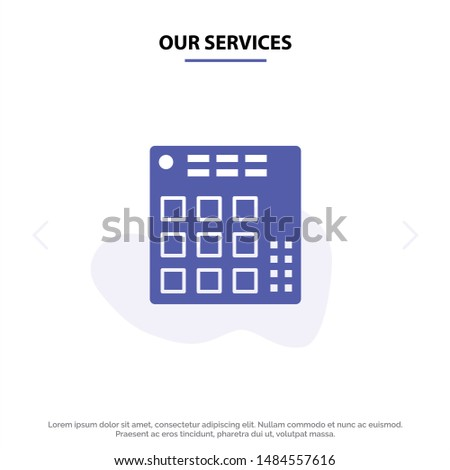 our services audio  controller