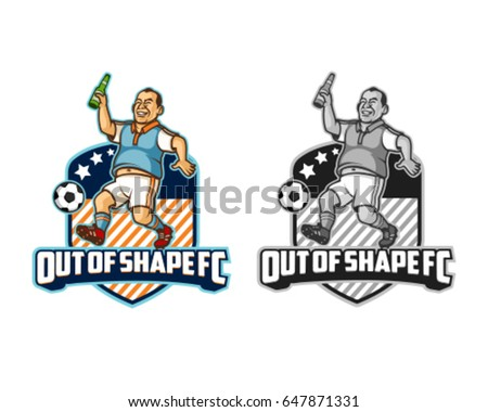 out of shape sport logo