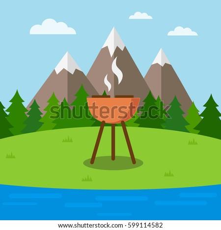 outdoor activities concept