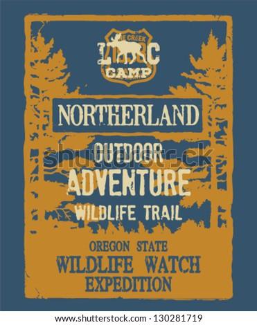outdoor adventure   artwork for ...