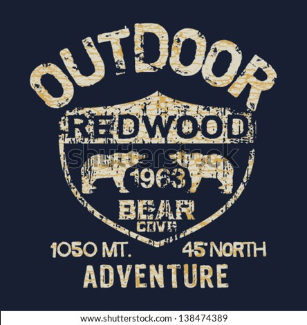 outdoor adventure   vector...