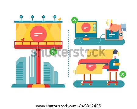 Shutterstock Outdoor advertising process