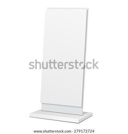 outdoor advertising stand