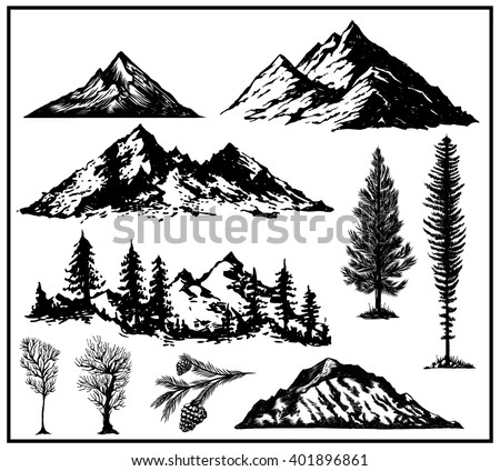 Mountain Graphics Download Free Vector Art Stock Graphics Images