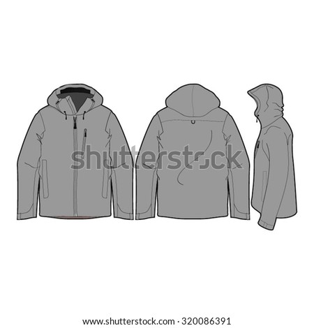 4c67b62126 Vector Images, Illustrations and Cliparts: Outdoor Climbing Jacket ...