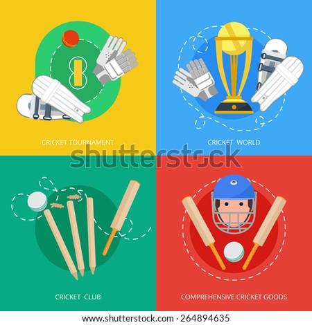 outdoor cricket game equipment