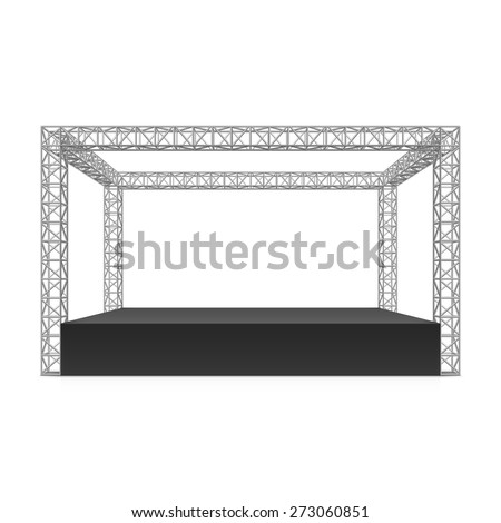 outdoor festival stage  truss