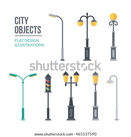 outdoor lights illustration