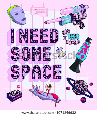 outer space theme slogan