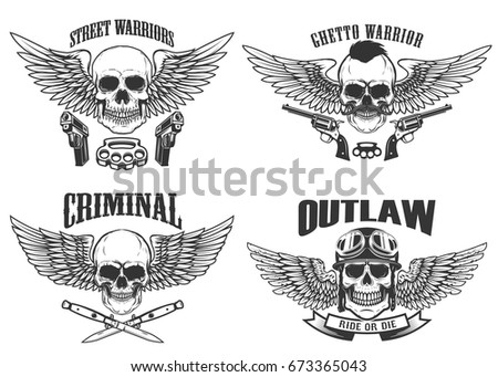 outlaw  street warriors set of