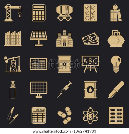 Outlay icons set. Simple set of 25 outlay vector icons for web for any design