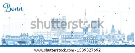 outline bonn germany city
