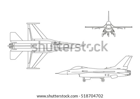 outline drawing of military