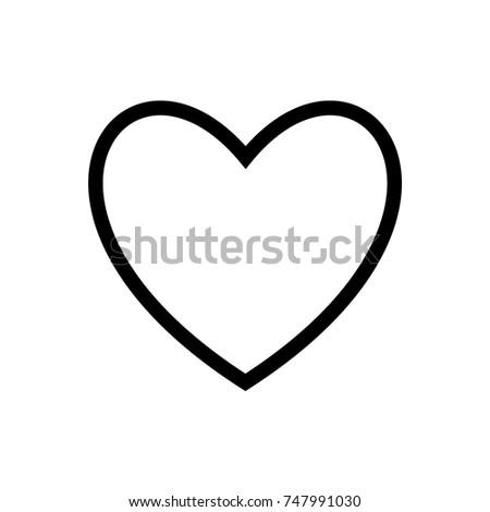 outline hart
