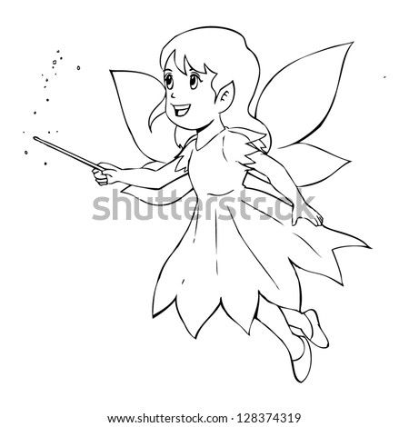 outline illustration of a