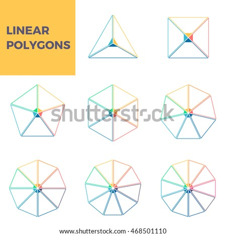 Number Names Worksheets pentagon hexagon heptagon octagon : Outline Infographics. Triangle, Square, Pentagon, Hexagon ...