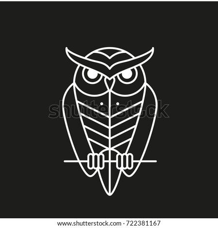 Outline Owl Logo