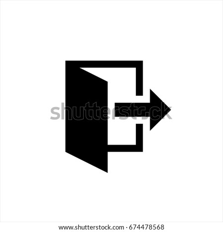 Output icon in trendy flat style isolated on background. Output icon page symbol for your web site design Output icon logo, app, UI. Output icon Vector illustration, EPS10.